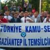 BAYRAĞIMIZA YAPILAN HAİN SALDIRIYI GAZİANTEP'TE PROTESTO ETTİK