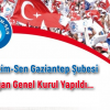 Türk Eğitim-Sen Gaziantep Şubesi 6. Olağan Genel Kurul Yapıldı…