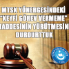 """MTSK YÖNERGESİNDEKİ """"KEYFİ GÖREV VERMEME"""" MADDESİNİN YÜRÜTMESİNİ DURDURTTUK"""